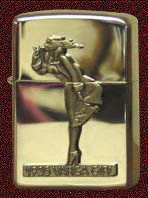 Zippo Collectible  Windy girl
