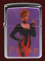 Zippo Collectible  pin-up girls